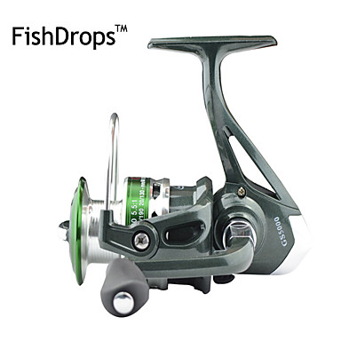 Fishing Reel Spinning Reels 5.5:1 Gear Ratio+7 Ball Bearings Exchangable Sea Fishing Bait Casting Ice Fishing Spinning Jigging Fishing
