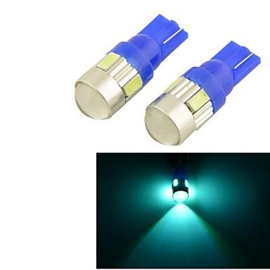 T10 Автомобиль Лампы W SMD 5630 lm 6pcs Ремонтная лампа Подсветка для чтения Подсветка приборной доски