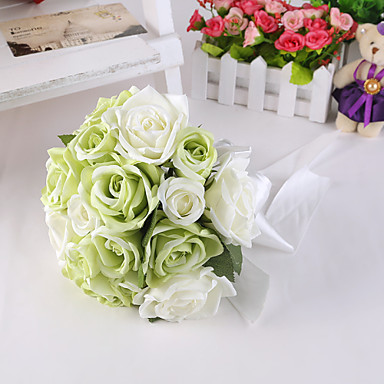 Wedding Flowers Bouquets Wedding Party / Evening Silk Satin 11.02
