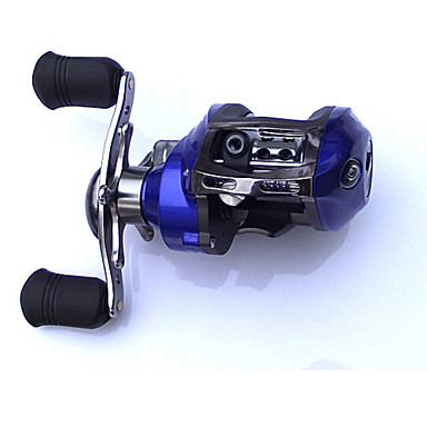 Fishing Reel Baitcasting Reel 6.3:1 Gear Ratio+11 Ball Bearings Left-handed Sea Fishing Freshwater Fishing Bass Fishing - SY120