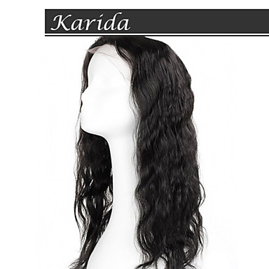 High Quality Virgin Human Hair Wig, Karida Hair Full Lace Virgin Brazilian Human Hair Wig