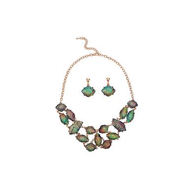 Bijoux Colliers décoratifs / Boucles d'oreille Mariage / Soirée / Quotidien Alliage / Résine 1set Femme Cadeaux de mariage