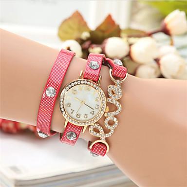 The New European Diamante Glisten LOVE Fashion Bracelet Watch