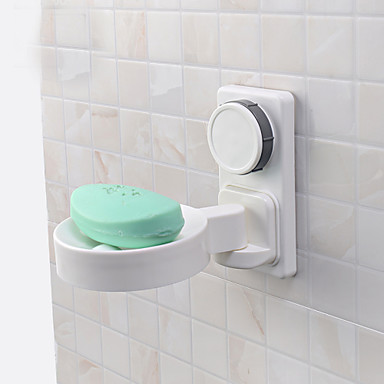Soap Dishes & Holders High Quality Contemporary Plastic 1 pc - Hotel bath Wall Mounted