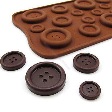 Кнопка в форме конфеты кекс выпечка плесень плесень 22 * 10,5 * 0,5 см