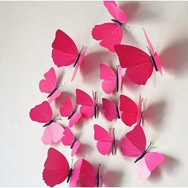 Dyr Veggklistremerker 3D Mur Klistremerker Dekorative Mur Klistermærker Køleskabs klistermærker, Vinyl Hjem Dekor Veggoverføringsbilde