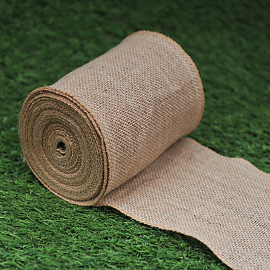 Wedding Party Jute Mixed Material Wedding Decorations Classic Theme All Seasons