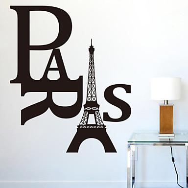 paris amovibles stickers muraux bricolage zooyoo8186 muraux en vinyle amovibles stickers décoration de la maison