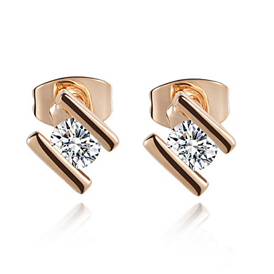 Øredobber Kubisk Zirkonium imitasjon Diamond Legering Smykker Til 2 Stk.