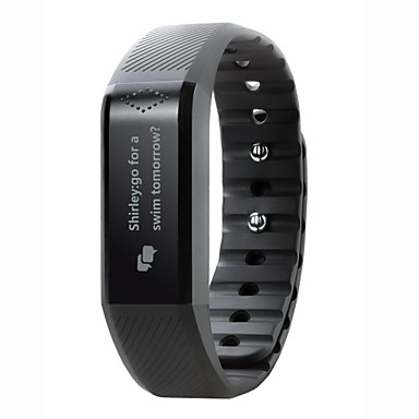 Men's Smart Watch Sport Watch Digital Touch Screen Alarm Calendar / date / day Chronograph Heart Rate Monitor Thermometer LED Rubber Band