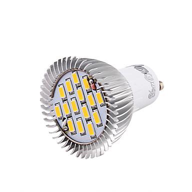 YouOKLight 700lm GU10 LED-spotlys MR16 15 LED Perler SMD 5630 Dekorativ Varm hvid Kold hvid 100-240V 85-265V 220-240V