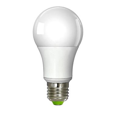 E26/E27 LED gömbbúrás izzók A60(A19) 1 led Integrált LED Meleg fehér 700lm 3000K AC 100-240V