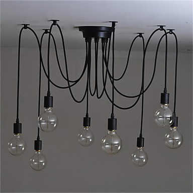 Modern / Zeitgenössisch Kronleuchter Raumbeleuchtung - Candle-Art, 110-120V 220-240V Glühbirne nicht inklusive