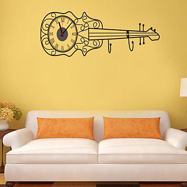 diy yaratıcı gitar duvar saati