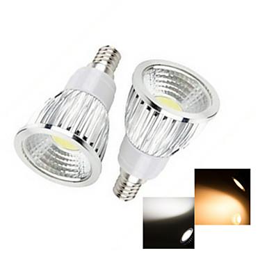 50-150 lm E14 Точечное LED освещение 1 светодиоды COB Тёплый белый Холодный белый AC 220-240V