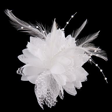 abordables Coiffes-Cristal / Tissu Diadèmes avec 1 Mariage / Fête / Soirée Casque