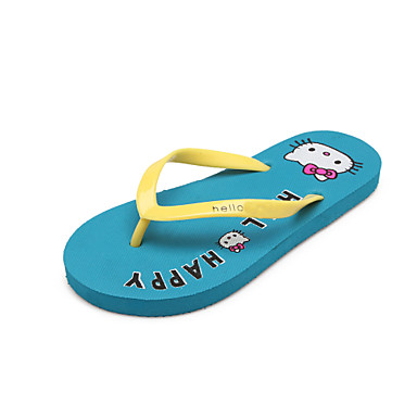 7044099b0a477d Women s Shoes Customized Materials Flat Heel Slingback Flip Flops Slippers  Casual Black Blue