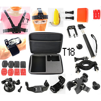 Case / Bags Adhesive Mounts Straps Mount / Holder Waterproof Floating For Action Camera Gopro 5 Gopro 4 Gopro 3 Gopro 3+ Gopro 2 Diving