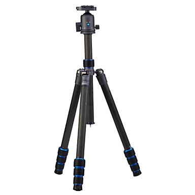 Karbonfiber 415mm 4.0 Seksjoner Digital Kamera Stativ