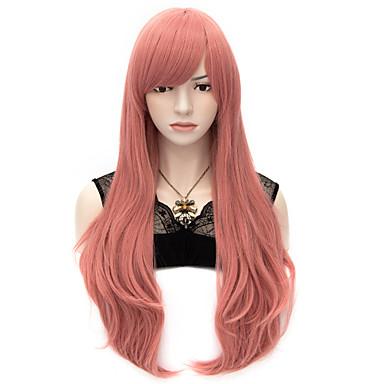 Syntetiske parykker / Kostymeparykker Rett / Naturlig rett Syntetisk hår Parykk Dame Veldig lang Lokkløs