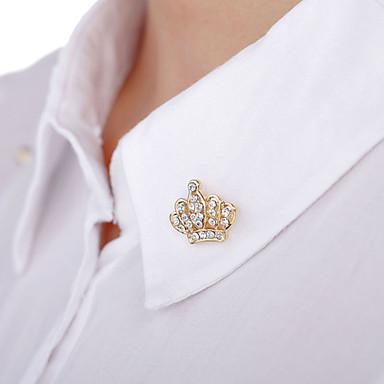 teljes gyémánt bross (1pair) esküvői party elegáns női stílusban