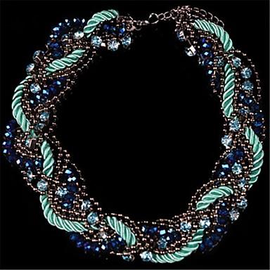 Imposant - en Strass/Imitation Perle/Plaqué Or - Vintage/Mignon/Soirée/Travail/Décontracté