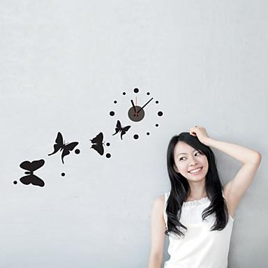 DIY 3D Butterfly Wall Clock