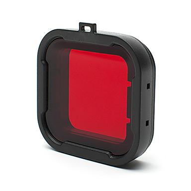 Tilbehør Beskyttende Etui Dykke Filter Høy kvalitet Til Action-kamera Gopro 4 Gopro 3+ Gopro 2 Sports DV Andre Plast