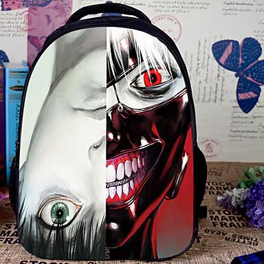 Laukku Innoittamana Tokio Ghoul Cosplay Anime Cosplay-Tarvikkeet Laukku / Backpack Valkoinen Nylon / PVC Uros / Naaras