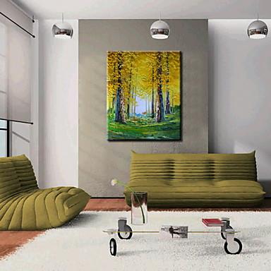 öljymaalauksia yhden paneelin modernin maisema käsin maalatut kankaat valmis ripustaa