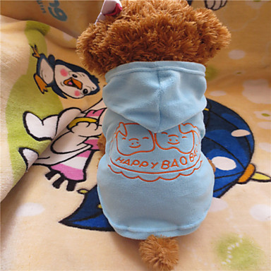 Dog Hoodies - XS / S / L / XL - Summer - Blue Polar Fleece