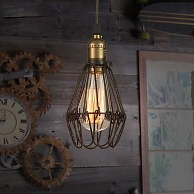 Retro Landhaus Stil Pendelleuchten Raumbeleuchtung - Ministil, 110-120V 220-240V, Wärm Weiß, Inklusive Glühbirne