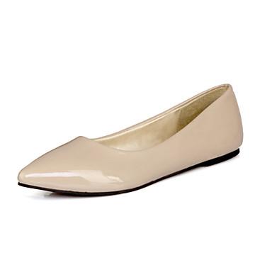 Tasapohjakengät - Tasapohja - Naisten kengät - Kiiltonahka - Musta / Sininen / Keltainen / Vihreä / Punainen / Beesi - Rento -