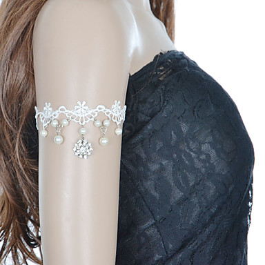 Damen Perle - Tennis – Armband Armbänder Für Hochzeit Party Besondere Anlässe