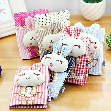 Lovely Rabbit Stylish Cloth Card Holder (Random Delivery)