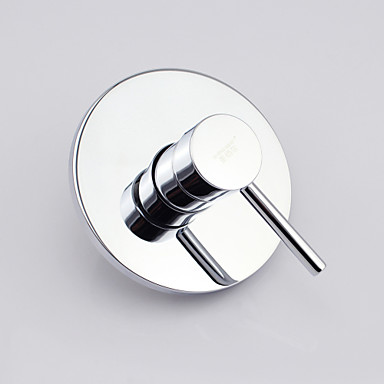 Moderne Chrom Wandmontage Keramisches Ventil Bath Shower Mixer Taps / Messing / Einhand Ein Loch