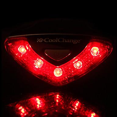 Bisiklet Işıkları Bisiklet Arka Işığı emniyet ışıkları LED Işık Lambalar LED - Bisiklet Su Geçirmez Kolay Taşınır AAA 50-100 Lümen Batarya