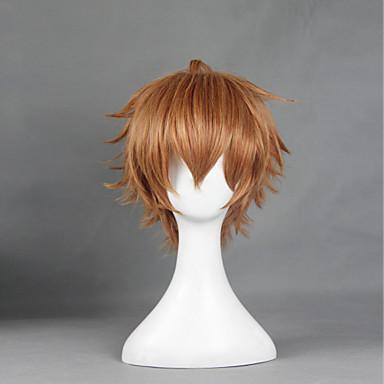 Cosplay Wigs Shokugeki no Soma Cosplay Anime Cosplay Wigs 30 CM Heat Resistant Fiber Men's Women's