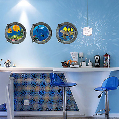 Пейзаж фантазия Наклейки Простые наклейки Декоративные наклейки на стены материал Положение регулируется Украшение дома Наклейка на стену