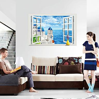 3d seinä tarroja seinätarrat tyyliin rakkaus mereen pvc seinä tarroja