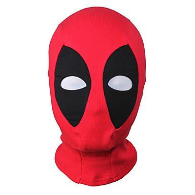 Maske Superhelter Zentai Cosplay-kostymer Lapper Maske Spandex Elastan Herre Dame Halloween