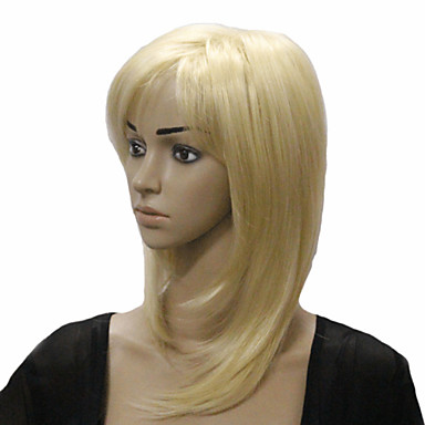 Europe and the United States Detonation Model High Quality Fashion Gold Temperament Hair Wig