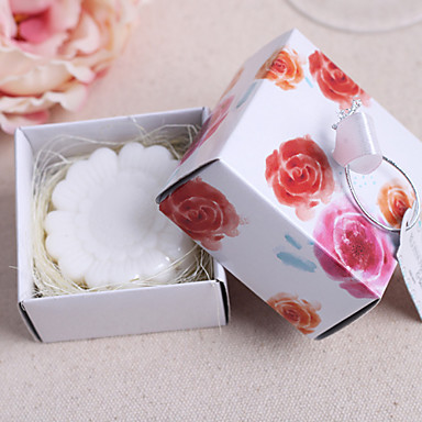 Wedding / Anniversary 100% all-natural ingredients Bath & Soaps Floral Theme - 1pcs