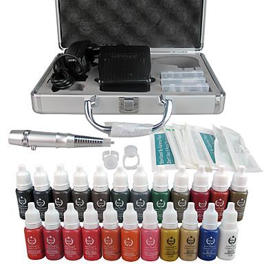 Electrique Kit de maquillage Crayons à Sourcils Lèvres Eyeliners Caisse Autre Machines de tatouage1 Ligner rond 3 Ligner rond 5 Ligner