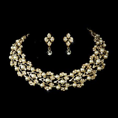 Damen Gold Klar Schmuck-Set - Gold Einschließen Gold Für Hochzeit Party Besondere Anlässe / Jahrestag / Verlobung / Geschenk