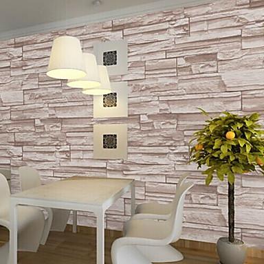 Геометрический принт Украшение дома Современный Облицовка стен, ПВХ/винил материал Клей требуется Обои для дома