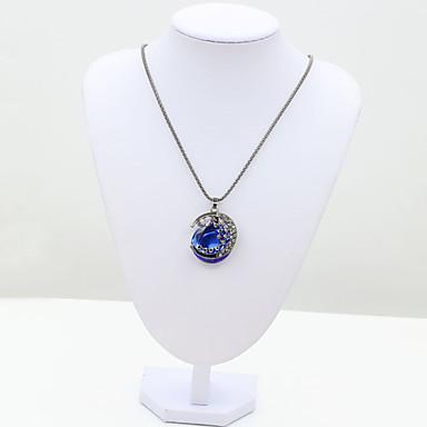 여성 패션 유럽의 체인 목걸이 크리스탈 라인석 모조 다이아몬드 18K 금 오스트리아 크리스탈 체인 목걸이 ,