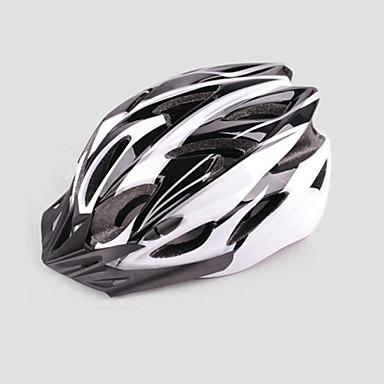 Helmet Pyörä (Valkoinen / Sininen , EPS+EPU)-de Unisex - Pyöräily / Maastopyöräily / Maantiepyöräily / VirkistyspyöräilyMaasto /