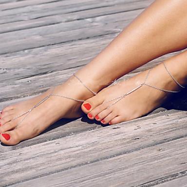 Ayak bileziği - Kadın's Moda / minimalist tarzı Ayak bileziği Uyumluluk Parti / Günlük