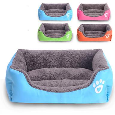 Katze Hund Betten Haustiere Matten & Polster Solide Wasserdicht Niedlich Orange Rose Grün Blau Für Haustiere